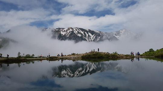 Happo Pond – 八方池 – Hiking the Japanese Alps